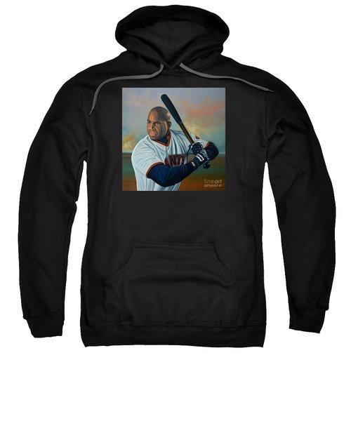 Barry Bonds Sweatshirt by Paul Meijering