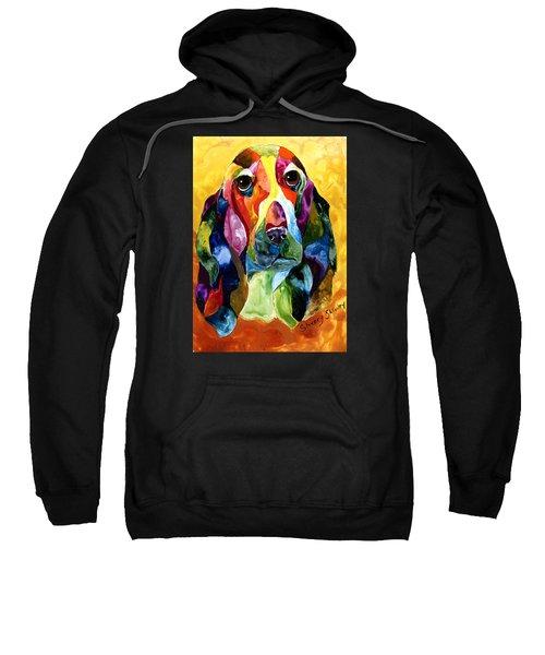 Basset Hound Blues Sweatshirt