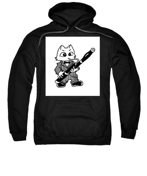 Bassoon Cat Sweatshirt