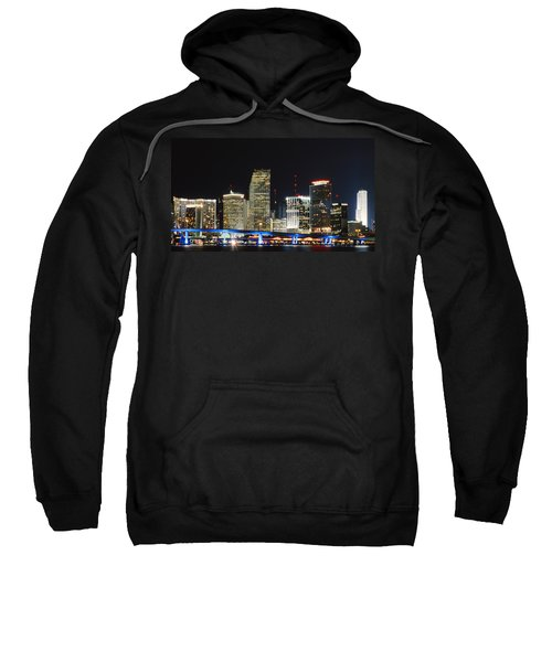 Bay Front Miami Skyline Sweatshirt