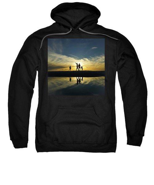 Beach Dancing At Sunset Sweatshirt