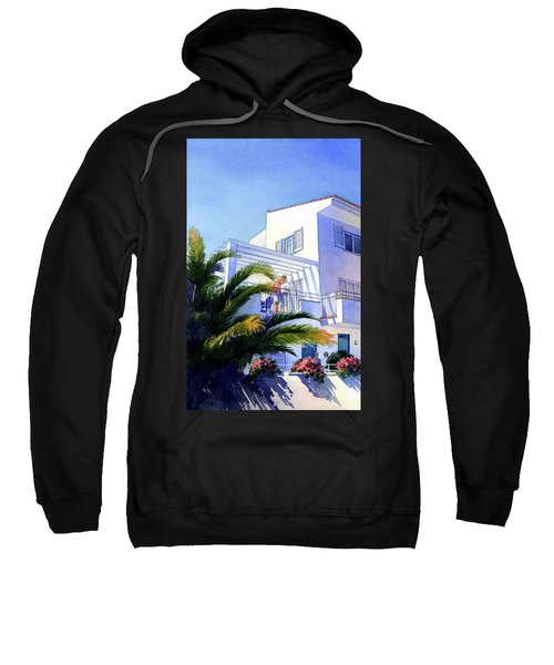 Beach House At Figueres Sweatshirt
