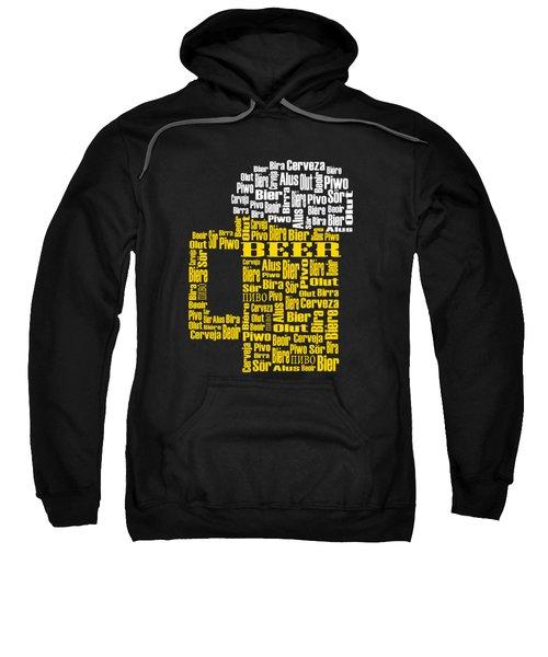 Beer  Sweatshirt by Shirley Radabaugh