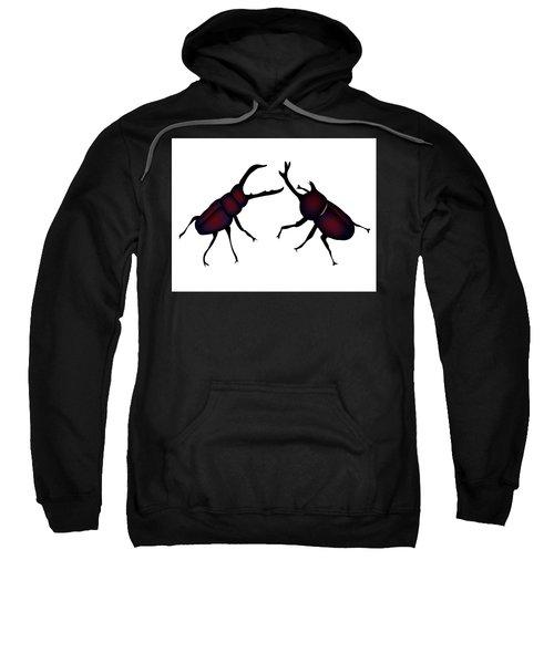 Beetle And Stag Beetle Sweatshirt