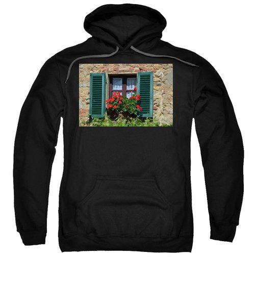 Bella Italian Window  Sweatshirt