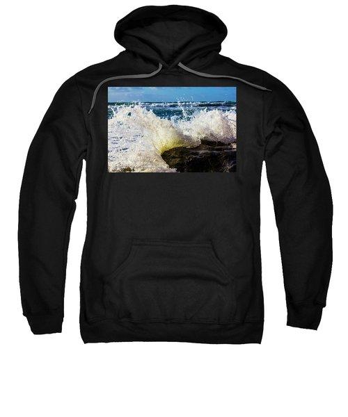 Wave Bending Backwards Sweatshirt
