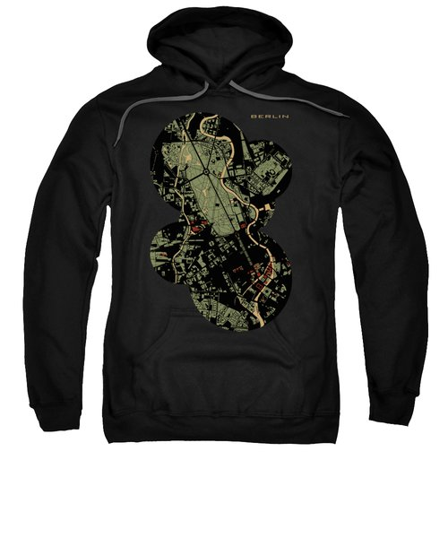 Berlin Engraving Map Sweatshirt