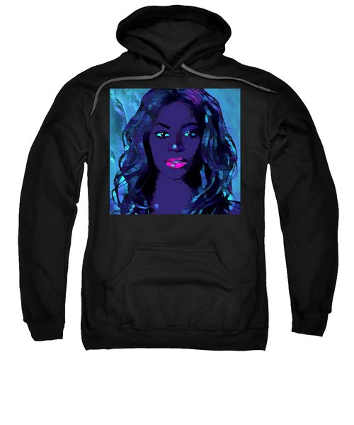 Beyonce Graphic Abstract Sweatshirt by Dan Sproul
