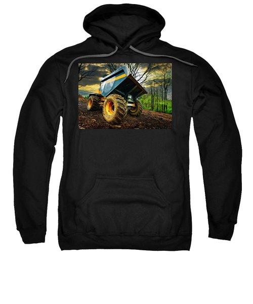 Big Bad Dumper Truck Sweatshirt