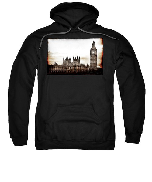 Big Bend And The Palace Of Westminster Sweatshirt
