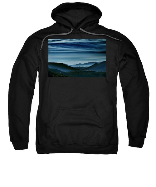 Big Bend At Dusk Sweatshirt