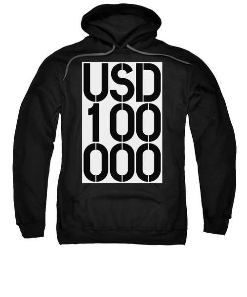 Big Money Usd 100 000 Sweatshirt