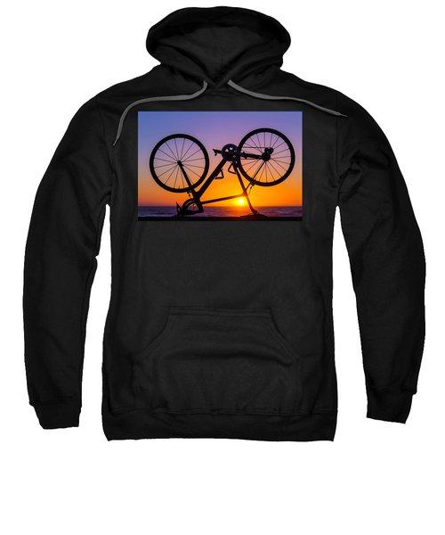 Bike On Seawall Sweatshirt