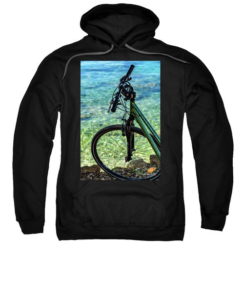 Biking The Rovinj Coastline - Rovinj, Istria, Croatia Sweatshirt