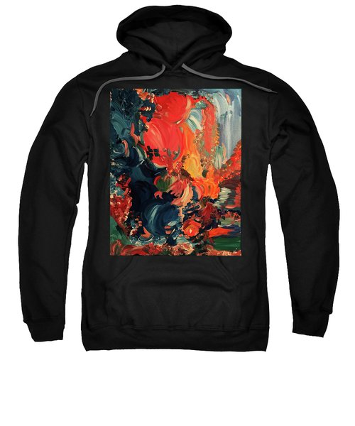 Birds And Creatures Of Paradise Sweatshirt
