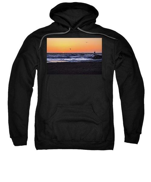 Birds At Sunrise Sweatshirt