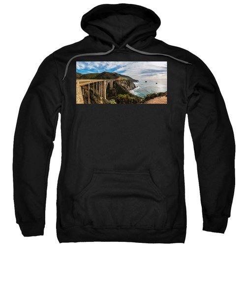 Bixby Creek Bridge Big Sur California  Sweatshirt