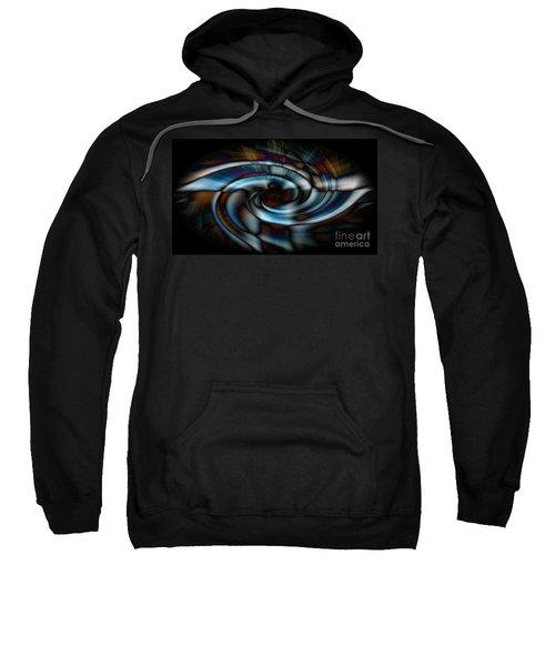 Black And Blue Sweatshirt