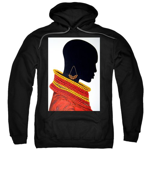 Black And Red - Original Artwork Sweatshirt