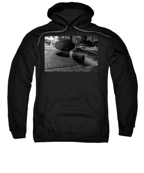 Black And White Fountain Sweatshirt