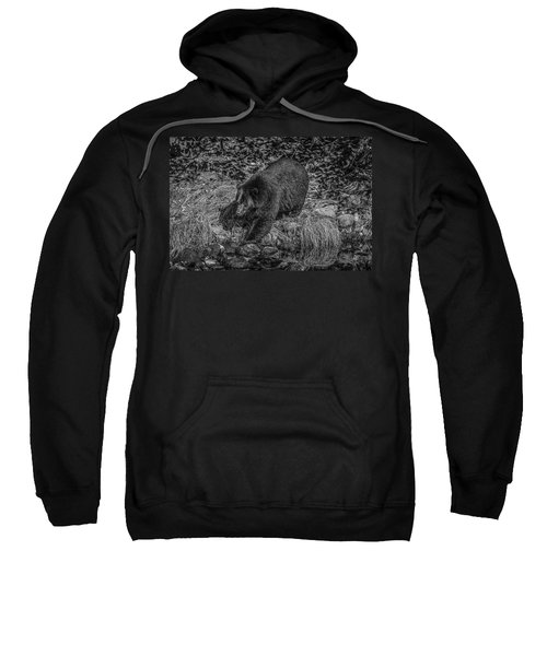 Black Bear Salmon Seeker Sweatshirt