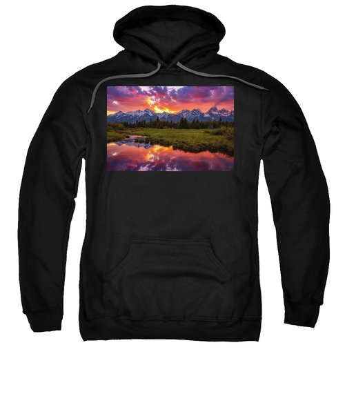 Black Ponds Sunset Sweatshirt