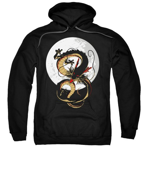 Black Shenron Sweatshirt
