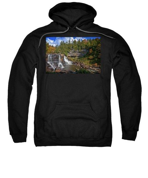Blackwater Falls  In Autumn 3879c Sweatshirt