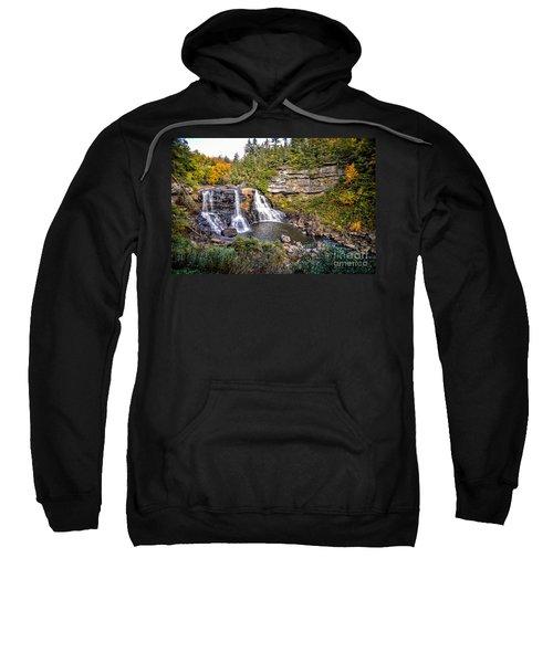 Blackwater Falls In Autumn3836c Sweatshirt