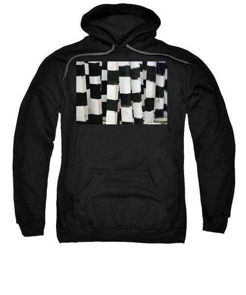 Blanco Y Negro Sweatshirt