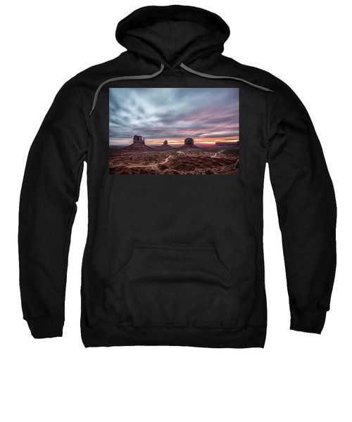 Blended Colors Over The Valley Sweatshirt