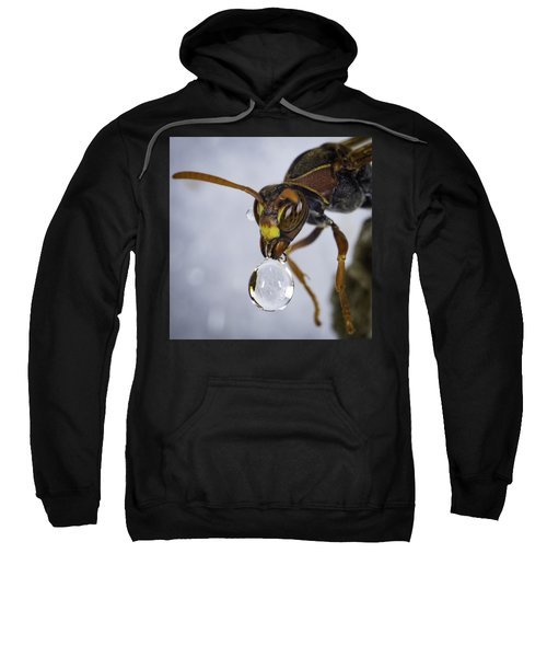 Sweatshirt featuring the photograph Blowing Bubbles by Chris Cousins