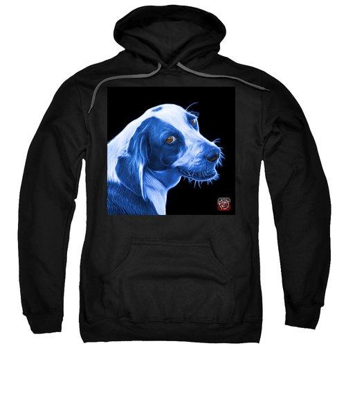 Blue Beagle Dog Art- 6896 - Bb Sweatshirt