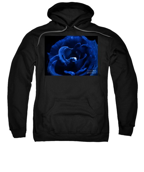 Blue Blue Rose Sweatshirt