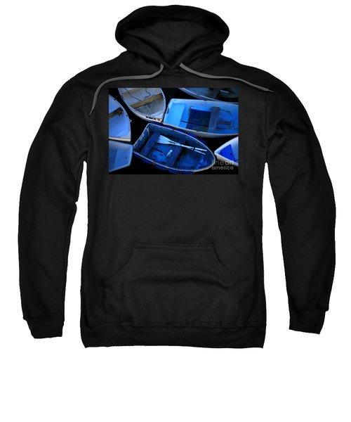Blue Boats Sweatshirt