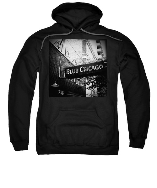 Blue Chicago Nightclub Sweatshirt