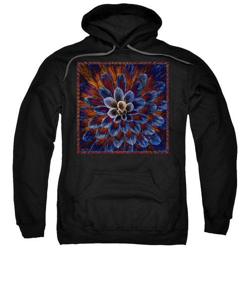 Blue Dahlia Sweatshirt