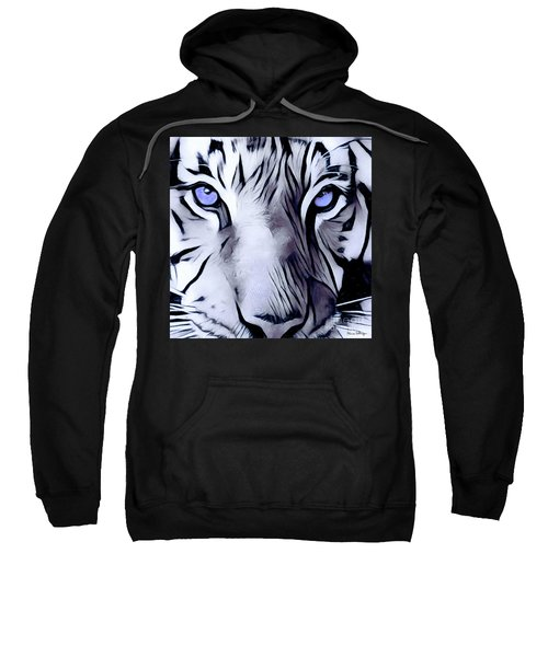 Blue Eyed Tiger Sweatshirt