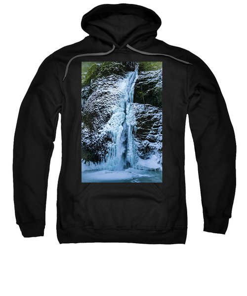Blue Ice And Water Sweatshirt