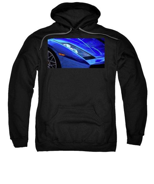 Blue Lamboghini Sweatshirt