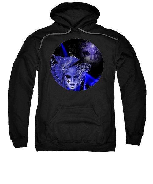 Blue Masquerade Sweatshirt