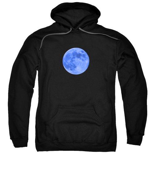 Blue Moon .png Sweatshirt