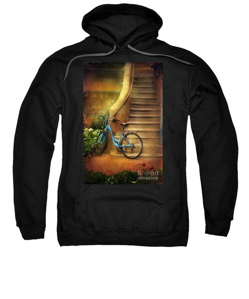 Blue Taos Bicycle Sweatshirt