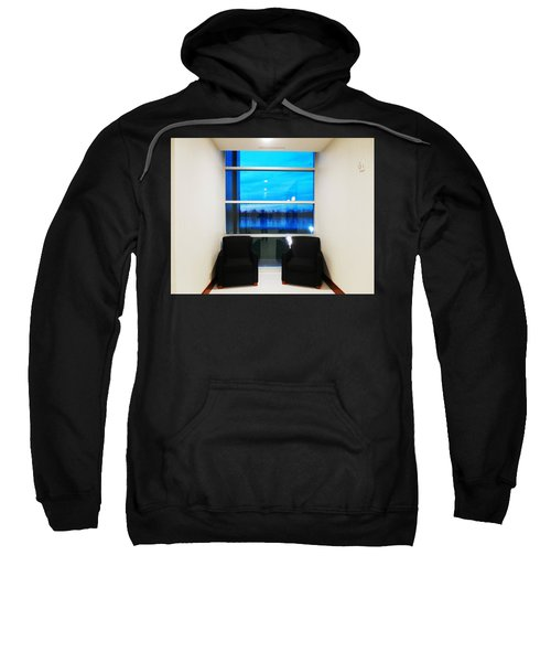 Blue Window Sweatshirt