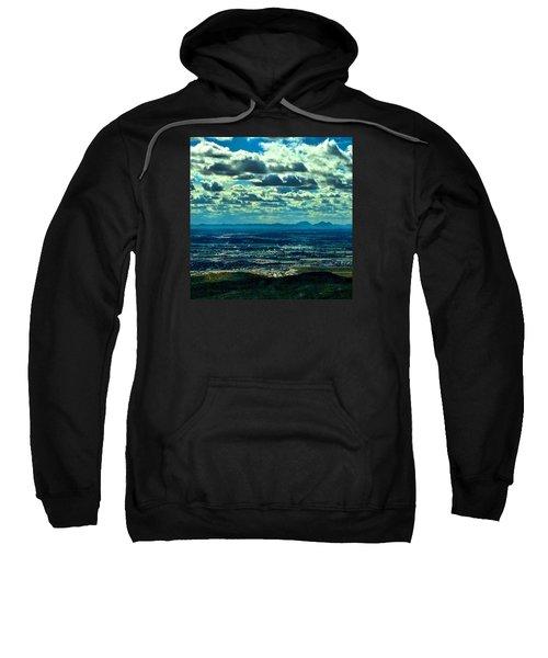 Blues In Nature  Sweatshirt