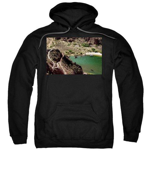Boat Beach On The Colorado River Sweatshirt