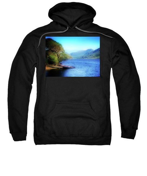 Sweatshirt featuring the photograph Boats At Rest by Scott Kemper