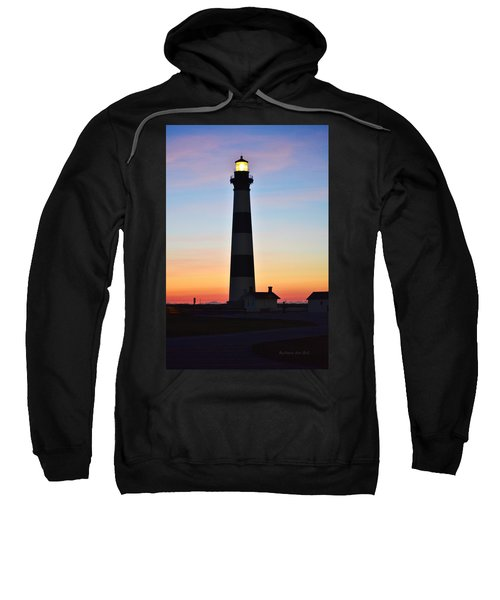 Bodie Lighthouse At Sunrise Sweatshirt