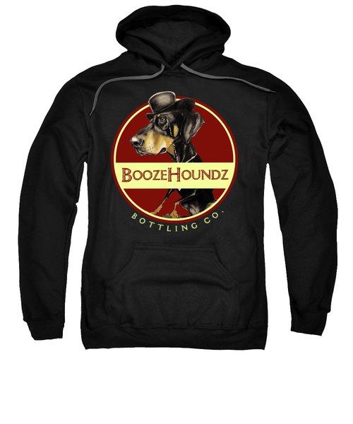 Boozehoundz Bottling Co. Sweatshirt by John LaFree