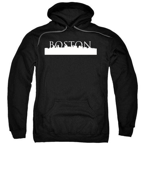 Boston Skyline Outline Logo 2 Sweatshirt